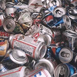 Recyclable Material - Cans